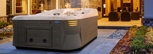 Traditional Style Hot Tub