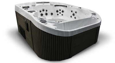 Cascade Infinity Edge Hot Tub