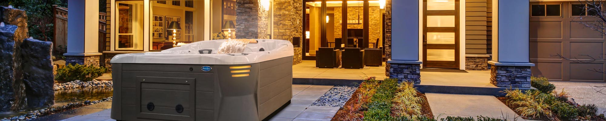 Coast Spas Patented Infinity Edge Hot Tub Compared to Standard Hot Tub
